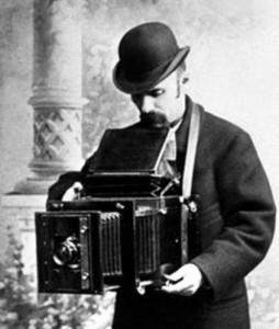 старинный фотограф