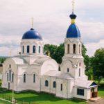 Храм святителя Николая Чудотворца в Петрикове (1retro)