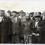 Фото ветеранов  1985 г., г. Петриков, БССР (15retro)