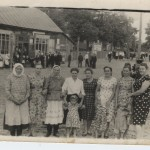 50-е годы, Лясковичи Петриковский район, возле магазина(18retro)