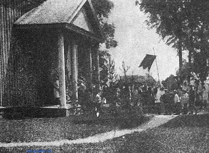 фото Процессия вокруг костела в Копаткевичах
