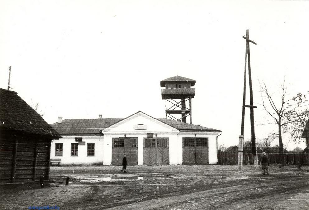 Здание пожарной части в г. Петрикове