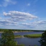 Небо в Петрикове лето 2015