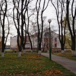парк Петрикова осенью