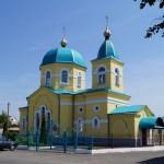 Вознесенская церковь, Петриков, Республика Беларусь (47retro)