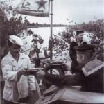 Кок, гвардии старший краснофлотец М.П. Ковалев,  июнь 1944 года (53retro)
