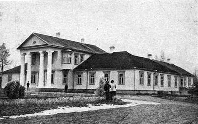 фото усадьбы Кеневичей в д. Бринев