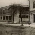Фото здания ресторана в Петрикове в 70-е (90retro)