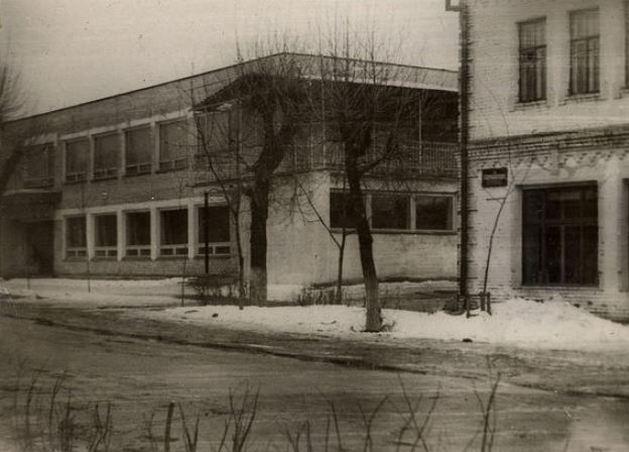 здания ресторана в Петрикове в 70-е
