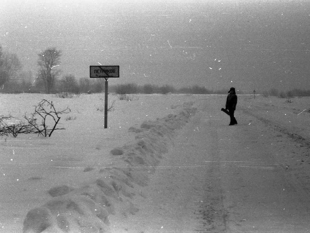 дорога в Петриков