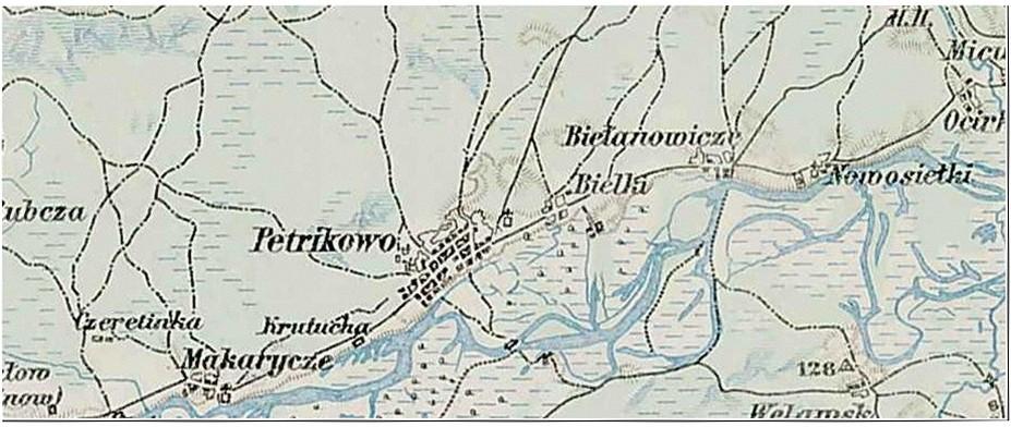 карта Петрикова