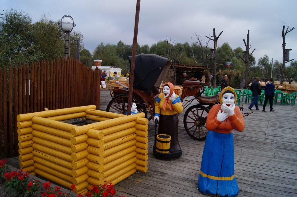 деревянные скульптуры Зов Полесья