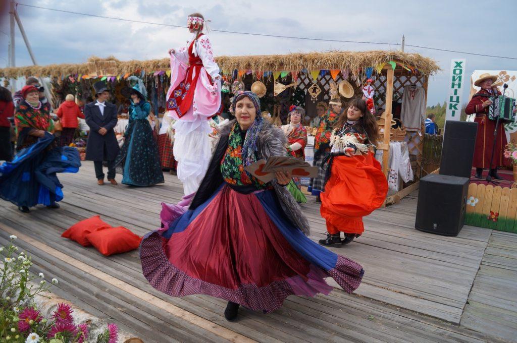 цыгане на фестивале