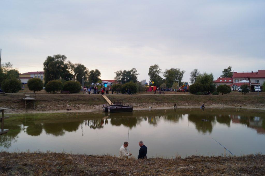 рыболовный конкурс на фестивале