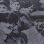 Дед Талаш и секретарь ЦК КПБ Тимофей Горбунов среди летчиков (148 retro)