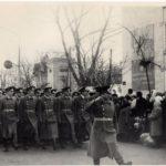 396 ракетный полк на Октябрьской демонстрации в Петрикове (165retro)