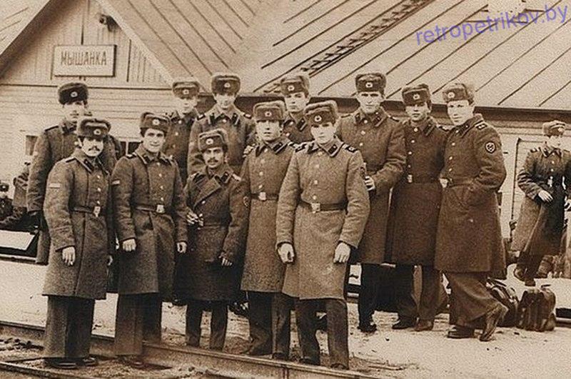 Станция Мышанка 70-е