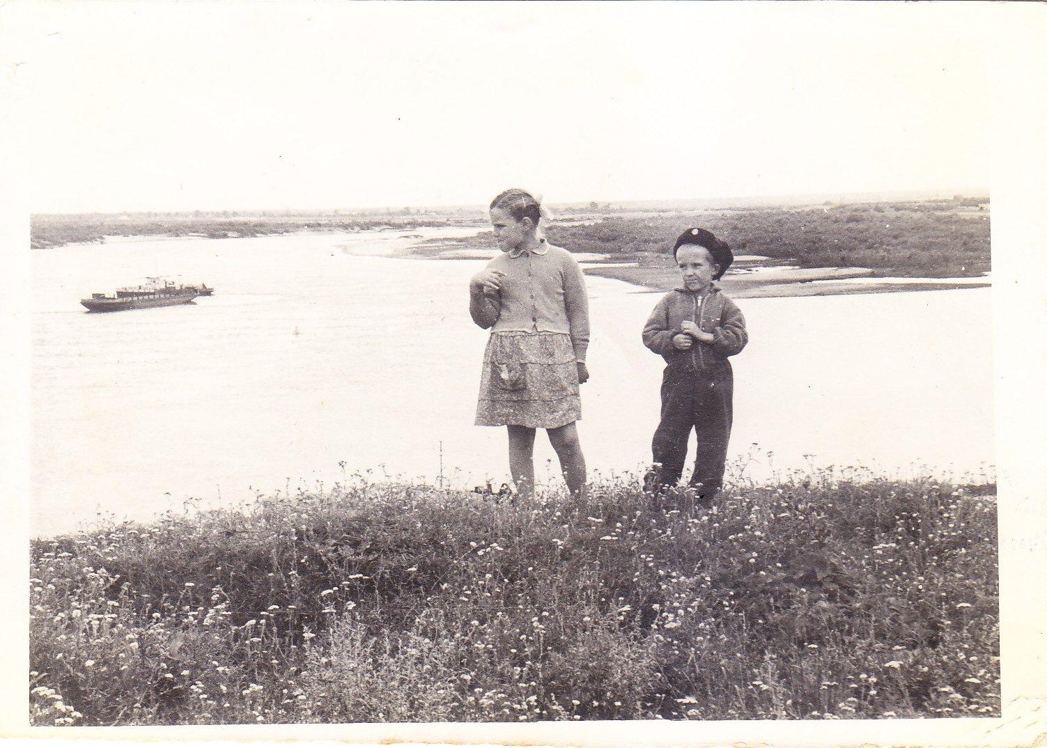 Выход из Старичей на реку Припять