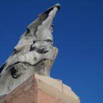 Сломали памятник Чалому