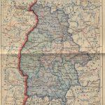 Карта Полесской области БССР на 1 декабря 1938 года (59retro)