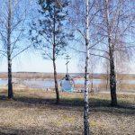 Памятный крест военным морякам и морским летчикам в Петрикове (CC0)(86retro)