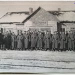 Ж\д станция Мышанка во время оккупации, фото из личного архива Антона Писаренко (106retro)